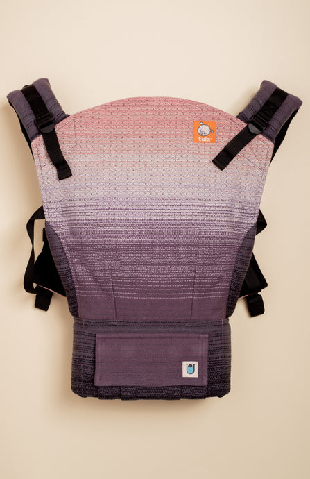 Uppymama Pink Summit (plum weft) - Tula Signature Baby Carrier