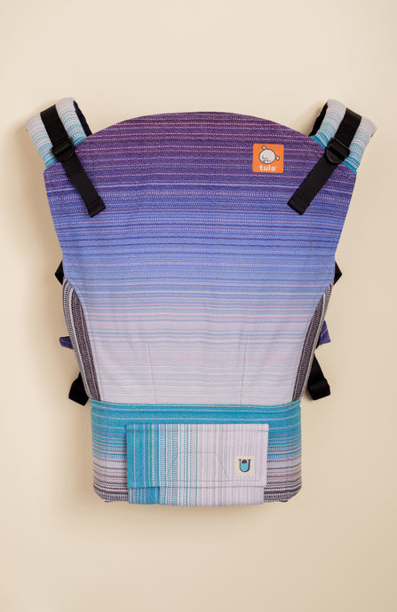 Uppymama Out of the Blues (lavender weft) - Tula Signature Baby Carrier