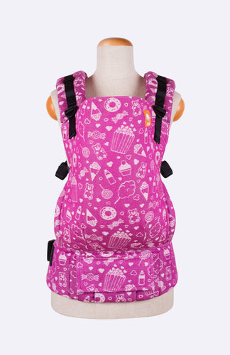 Tula Woven Sweetie Bunches - Tula Signature Baby Carrier Wrap Conversion