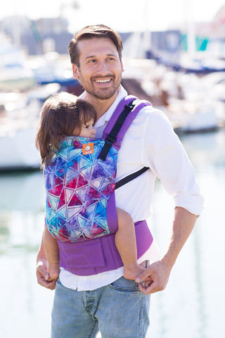 Ergonomic Baby Carrier Tide Pool - Tula Baby Carrier - Baby Tula - 1