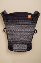 Apple Blossom Wovens Reflection Kaleidoscope Weave (black weft) - Tula Signature Baby Carrier Tula Wrap Conversion | Baby Tula