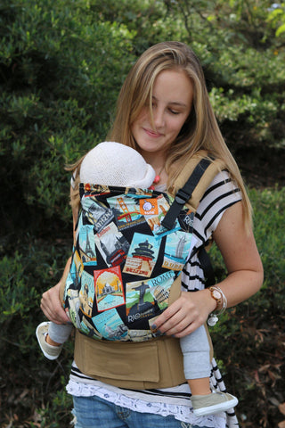Travel Bug - Tula Baby Carrier Ergonomic Baby Carrier - Baby Tula