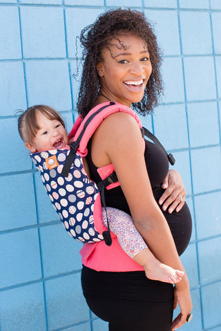 Trendsetter Coral - Tula Baby Carrier Ergonomic Baby Carrier - Baby Tula