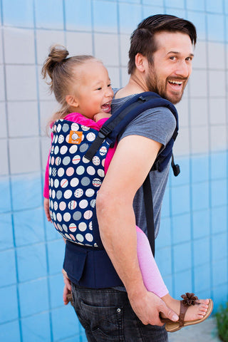 Trendsetter Navy - Tula Toddler Carrier Toddler - Baby Tula