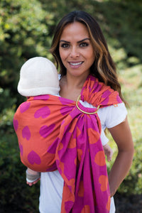 Tula Love Du Jour - Wrap Conversion Ring Sling Ring Sling - Baby Tula
