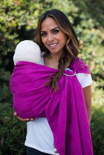 Ring Sling Tula Love Rosé - Wrap Conversion Ring Sling - Baby Tula