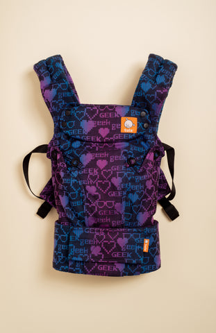 DBG Baby Geek at Heart - Tula Signature Baby Carrier