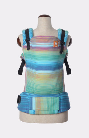 Baby Tula Full Toddler WC - Girasol Iridescent Dreams Azul Pacifico Weft
