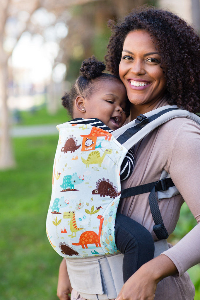 carrier for toddler. tulasaurus - tula toddler carrier baby for a