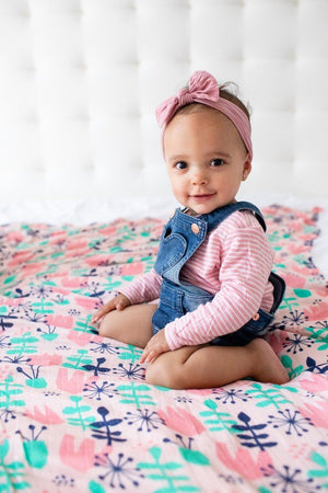 Twilight Tulip - Tula Baby Blanket