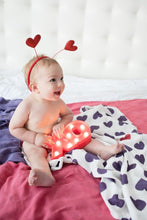 Hearts Berry - Tula Baby Blanket