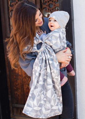 Vertices Storm - Wrap Conversion Ring Sling Ring Sling - Baby Tula