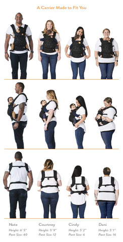 Coast Fin-flourescence - Tula Explore Baby Carrier