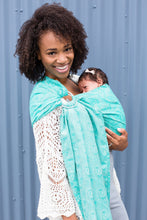 Zephyr Seafoam - Wrap Conversion Ring Sling Ring Sling - Baby Tula