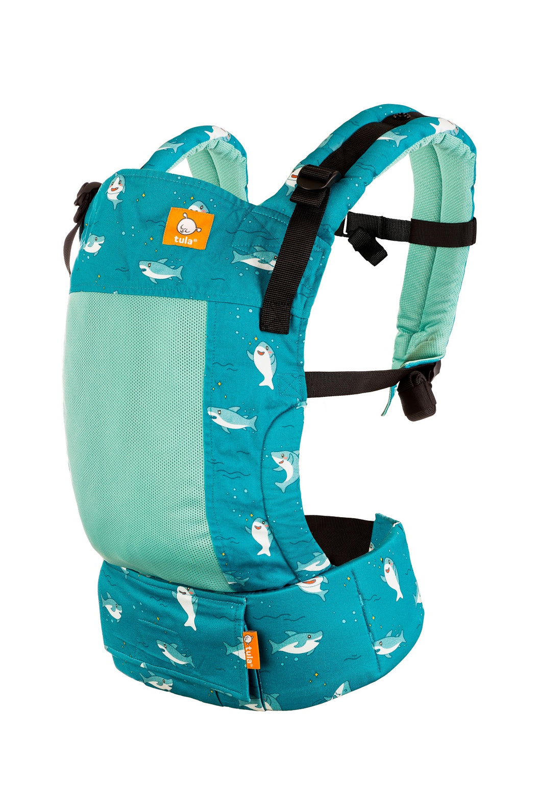 Coast Baby Shark - Tula Free-to-Grow Baby Carrier Free-to-Grow Coast