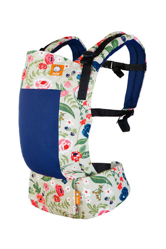 Coast Rosy Posy - Tula Free-to-Grow Baby Carrier