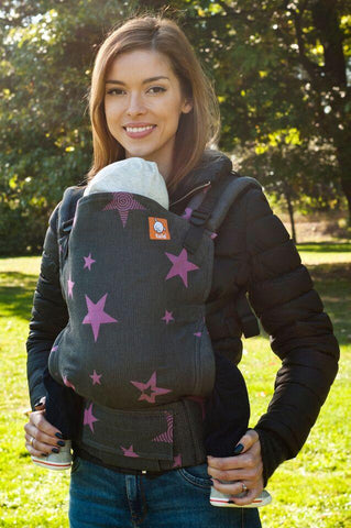 Half Toddler WC Carrier - Rubin Stars Wrap Conversion - Baby Tula