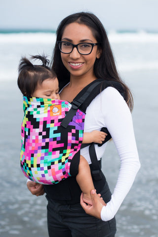 Pixelated - Tula Baby Carrier Ergonomic Baby Carrier - Baby Tula