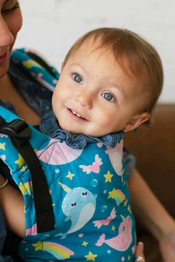 Unicorn of the Sea - Tula Free-to-Grow Baby Carrier