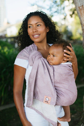 Lexington Lilac - Wrap Conversion Ring Sling Ring Sling - Baby Tula