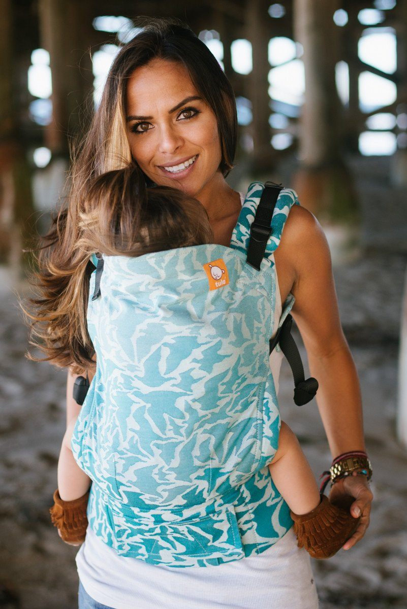 Half Toddler WC Carrier - Voyage Seychelles Wrap Conversion - Baby Tula