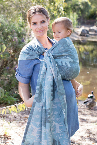 Woodland Nile - Cotton Ring Sling