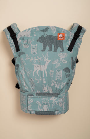 Tula Woven Woodland Nile - Tula Signature Baby Carrier Tula Wrap Conversion | Baby Tula