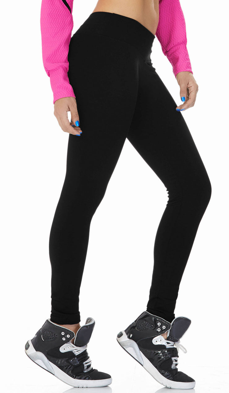 Babalu Fashion full-length, mid-rise supplex leggings, cute and fashionable workout pants