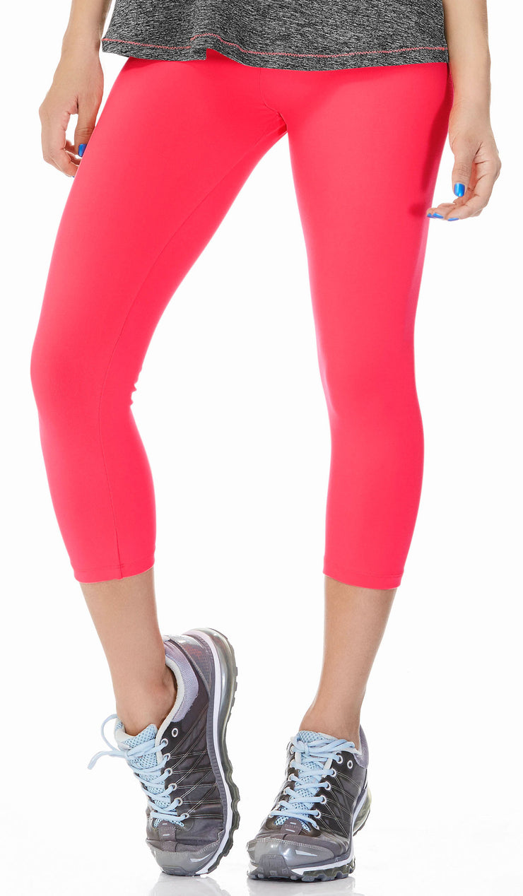 Babalu fashion ⅞ length leggings, simple and cute supplex workout pants