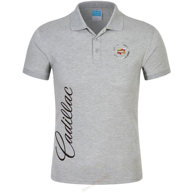Cadillac High Quality Golf Polo Shirt For Men