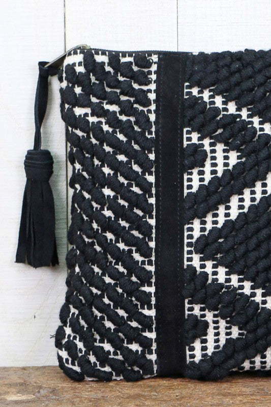 High Desert Weaved Clutch