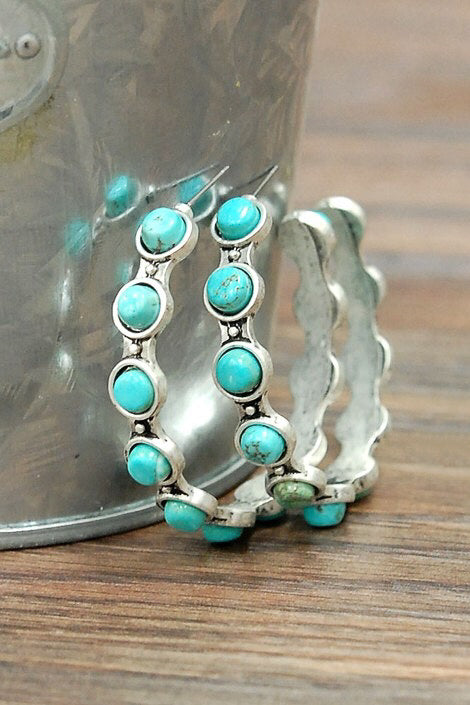 Bendera Turquoise Earrings
