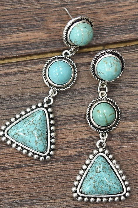 Boinne Turquoise Earrings