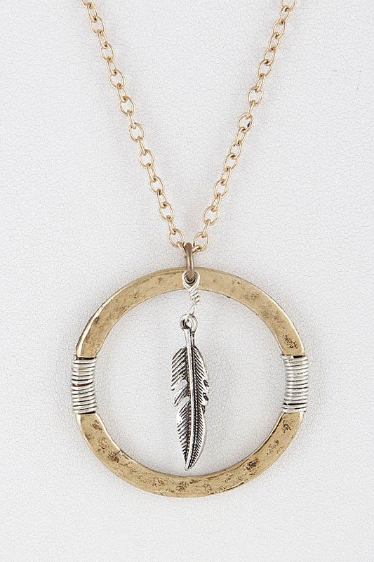 Florence Leafloop Necklace