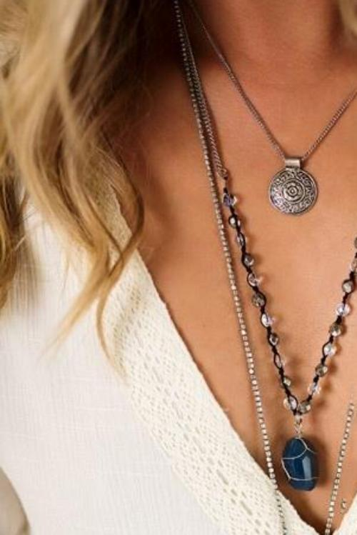 Chesky Layered Necklace