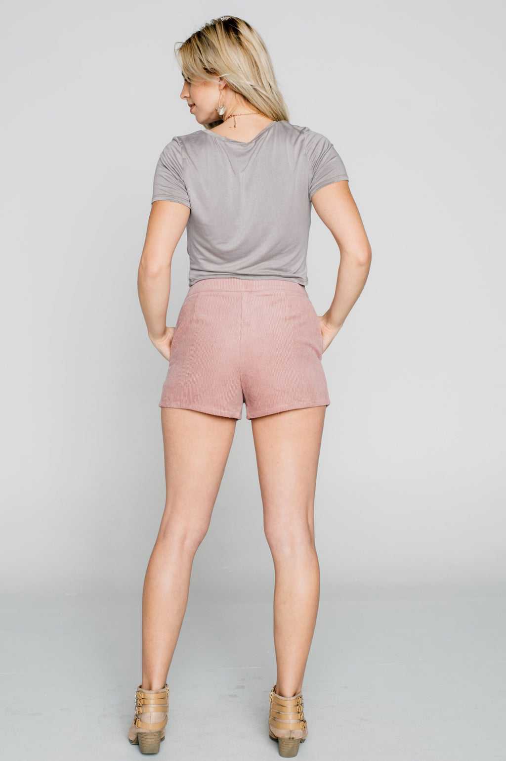 Hollandale Corduroy Shorts