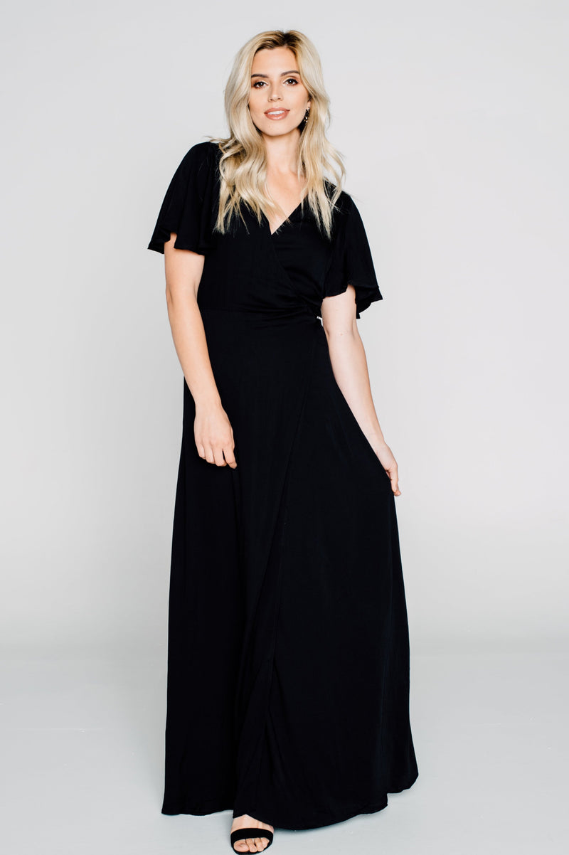 Heaven & Earth Side Wrap Maxi
