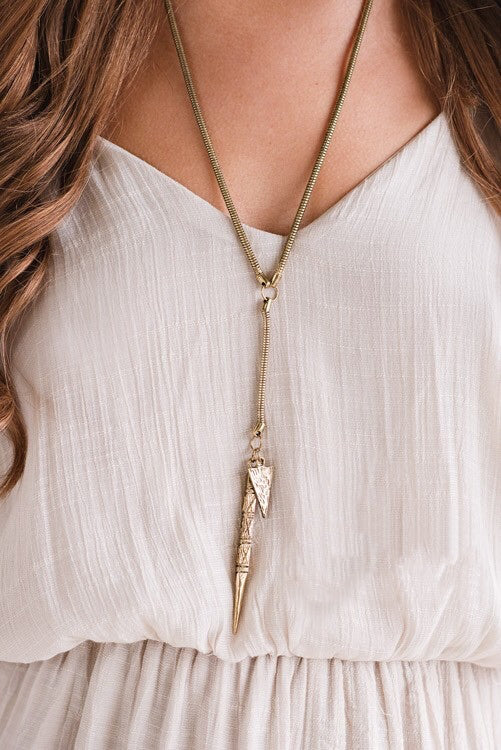 Spear & Arrow Necklace
