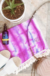Purple Summer Mae Dye Sarong