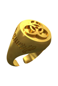 illfm ring w/ all gold (preorder)