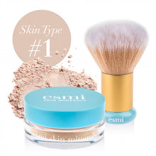 Load image into Gallery viewer, Mineral Powder Foundation and Kabuki Brush Bundle