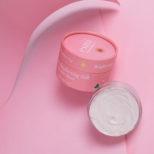 Bouncy Brightening Silky Booster Mask