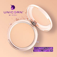 Load image into Gallery viewer, PONi Cosmetics Unicorn Champagne Highlighter