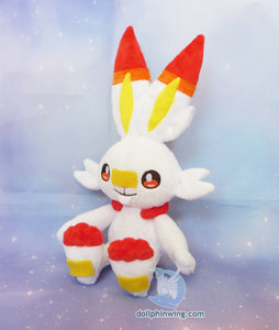 Scorbunny Plush Sewing Pattern FREE