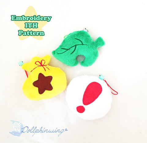 Animal Crossing ITH Embroidery Pattern