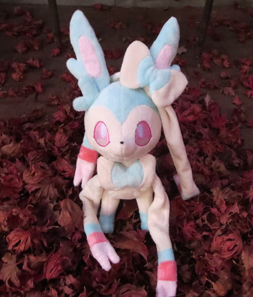 Sylveon Plush Sewing Pattern sewing pattern and tutorial pdf_pattern, plushie_pattern, pokemon, sewing_pattern