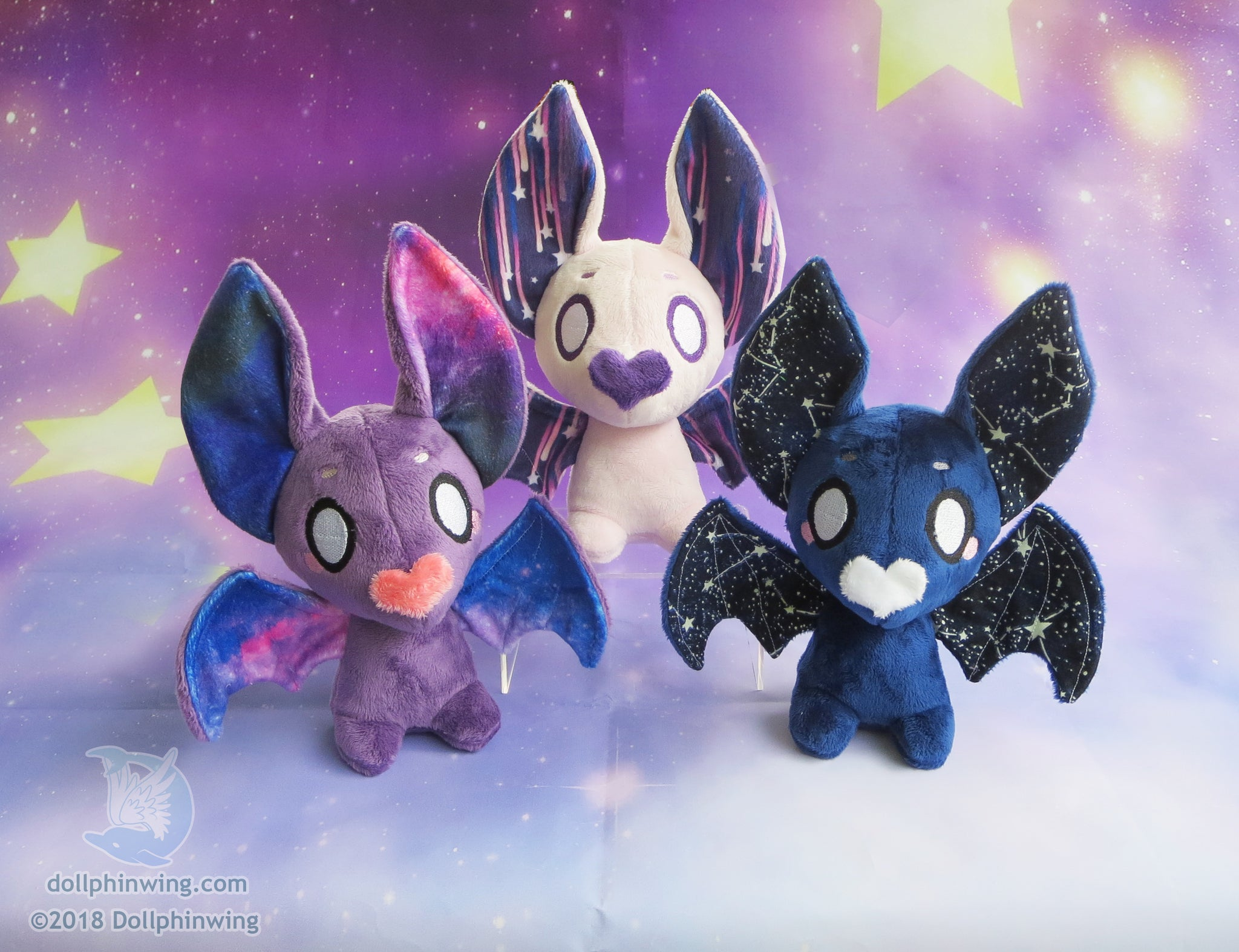 Space Bat Plushie plushie soft doll plushie