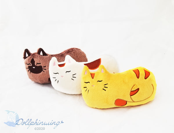 Sleepy Cat ITH Embroidery Pattern