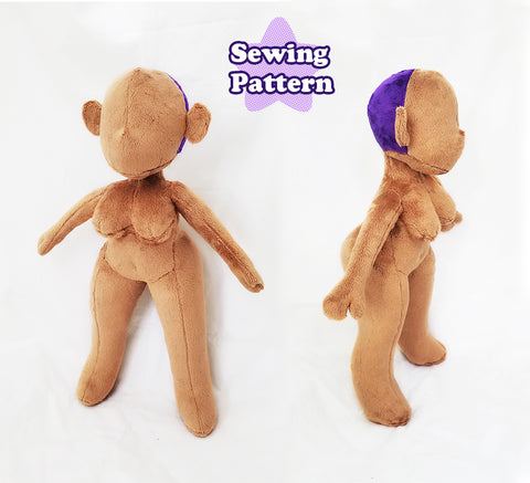Curvy Doll Sewing Pattern