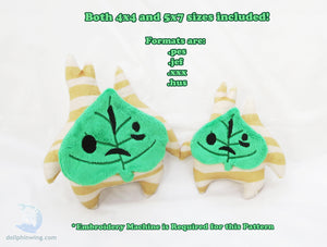 Forest Sprite Plush ITH Embroidery Pattern